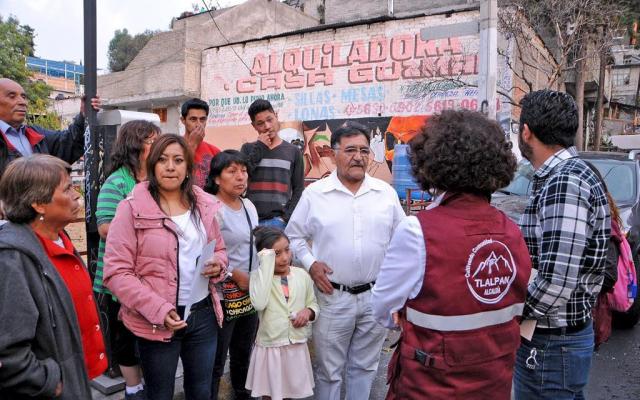 Resultado de imagen para Plan contra estiaje en Tlalpan beneficia a más de 4 mil familias