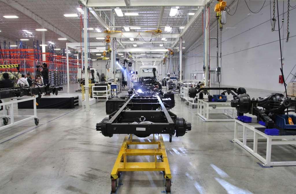 Durante el mes pasado se ensamblaron 346 mil 873 vehículos. Foto: Cuartoscuro