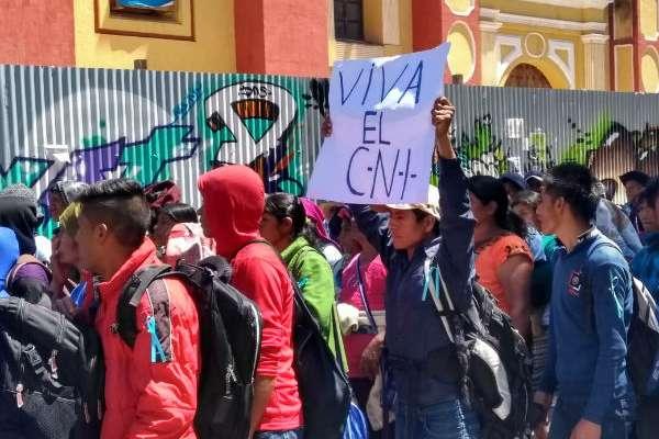 Dijeron que esta administración de gobierno también trae mentiras, desprecio, discriminación, inseguridad y  amenazas. Foto: Jeny Pascacio