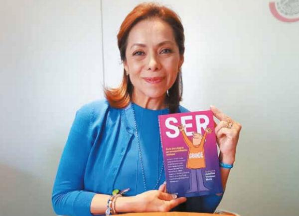 ALERTA. Josefina Vázquez Mota detalla que se deben tomar acciones para un futuro sano. Foto: RICARDO ORTIZ