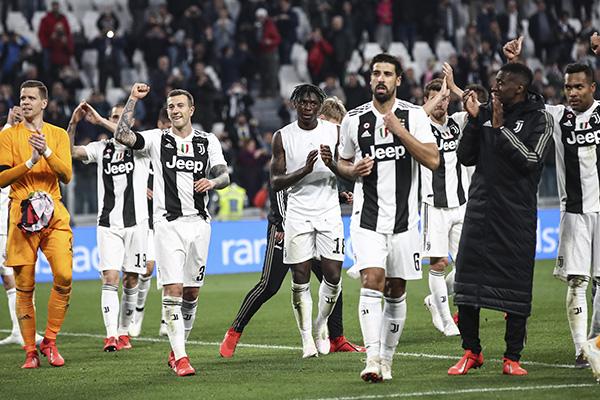 El conjunto turinés suma 84 puntos tras 31 jornadas. FOTO: AFP