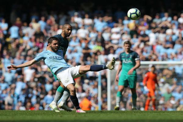 Luego de verse eliminado en la Champions League por el Tottenham Hotspur, el equipo del Manchester City tomó revancha . Foto EFE