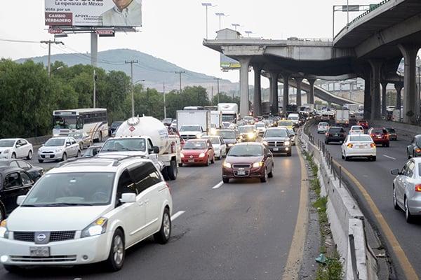 Otra vialidad transitada es la México-Cuernavaca. FOTO: CUARTOSCURO
