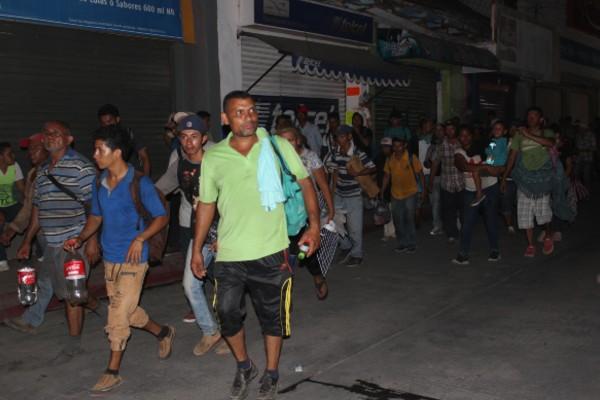 El Gobierno de México expresa su profunda preocupación ante las actividades de intimidación y extorsión a migrantes. Foto: Notimex