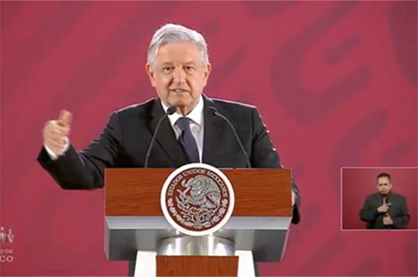 López Obrador  indicó que el lunes también informará sobre los precios a los que vende Pemex los combustibles.