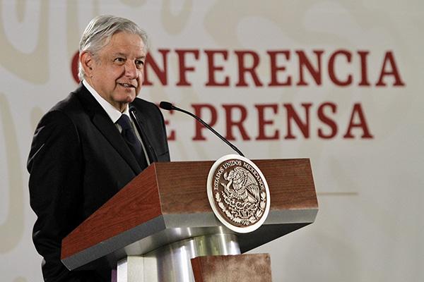 El presidente Andrés Manuel López Obrador criticó la política en materia de seguridad emprendida en gobiernos anteriores. FOTO: NOTIMEX