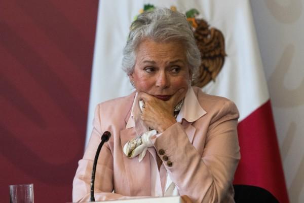 Olga Sánchez Cordero celebró que en la transformación que impulsa el presidente López Obrador. Foto Cuartoscuro