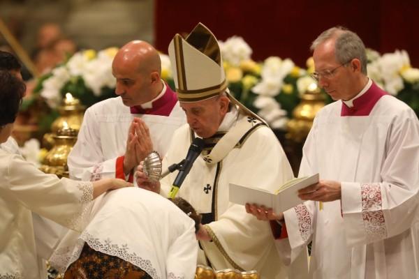 Mañana a las diez de la mañana, hora de Roma, se celebrará la misa de Resurrección. Foto: Pablo Esparza