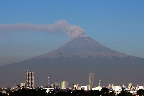 La Alerta Volcánica en Amarillo Fase Tres no representa motivo de alarma. Foto: Cuartoscuro