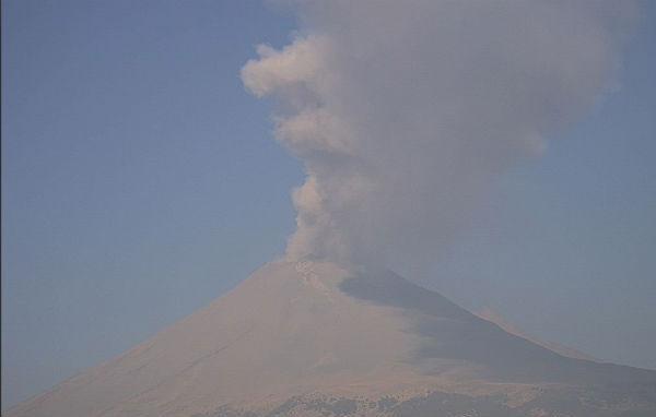 El nivel del Semáforo de Alerta Volcánica dependerá de la evolución de la actividad del volcán. FOTO: ESPECIAL
