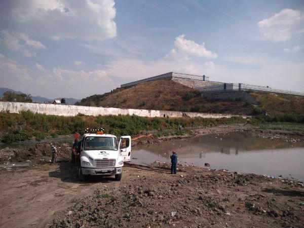 Las autoridades estiman que los trabajos concluyan a mediados de mayo. Foto: Leticia Ríos