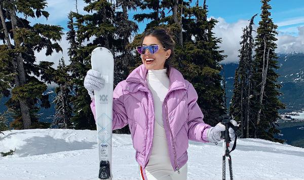 Pam es amante de la nieve desde pequeña. Foto: Cortesía