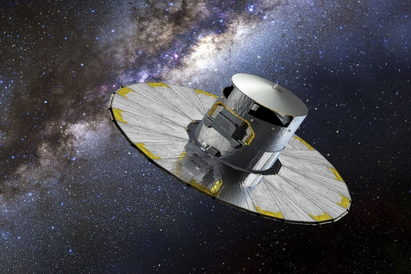 satélite Gaia en el espacio