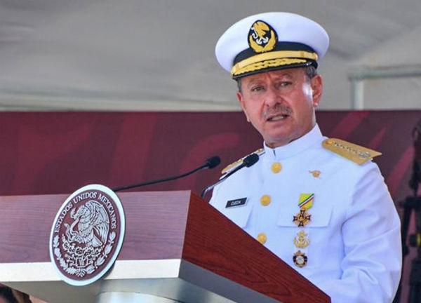 """Aseguró que los elementos de la Marina están preparados y """"más unidos que nunca"""" Foto: @AlmiranteSrio"""