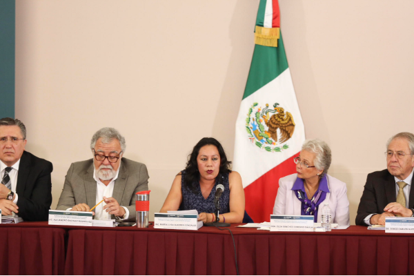 En el marco de la Reinstalación de Sipinna, anunció dos nuevos programas para garantizar los derechos de ese segmento de la población. Por: Notimex