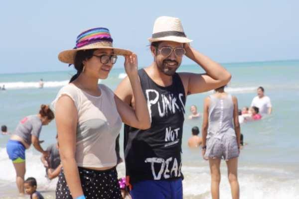 Los turistas invitaron a las personas a visitar Tamaulipas. Foto: Especial