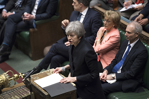 """Tusk destacó que esta extensión """"flexible"""" retrasa la posibilidad de un Brexit sin acuerdo en más de seis meses. FOTO: AFP"""