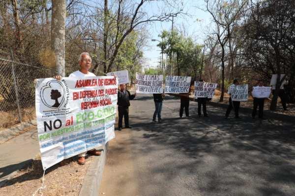 A la defensa del bosque se sumarán el Gobierno capitalino y federal. Foto:@vromog