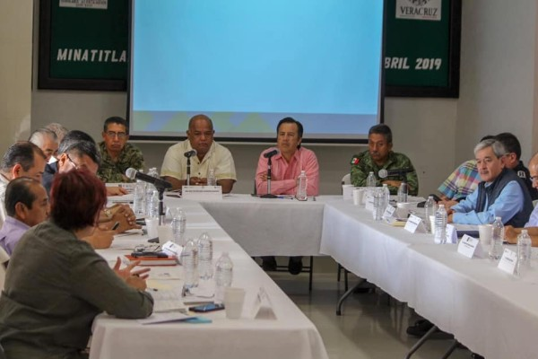El funcionario publicó que todos los involucrados le darán seguimiento a las acciones emprendidas para pacificar el estado. Foto: Facebook