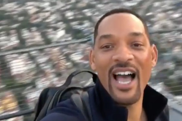 En el video, Will Smith muestra el paisaje de la Ciudad de México y pronuncia unas frases en español. Foto: Especial