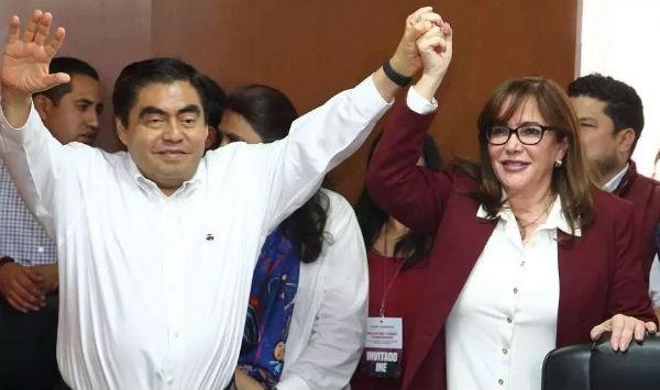 Todas las encuestas muestran a Morena con más de 35pts de ventaja, aseguró la líder de Morena. Foto: Especial