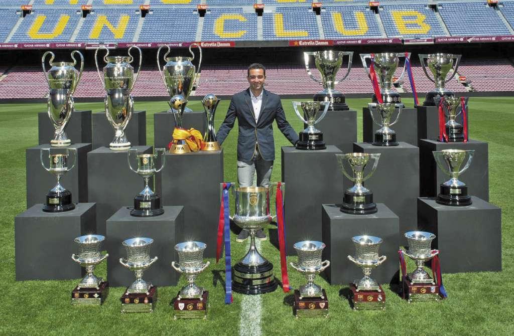 SÍMBOLO. El mediocampista español lo ganó todo como jugador blaugrana. Foto: CORTESÍA