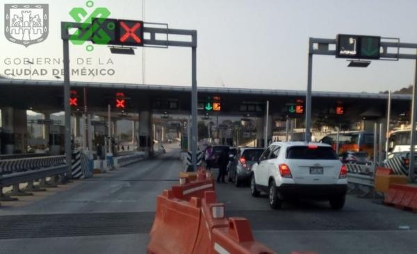 Alertan por congestionamiento vial en la zona: Foto: @OVIALCDMX
