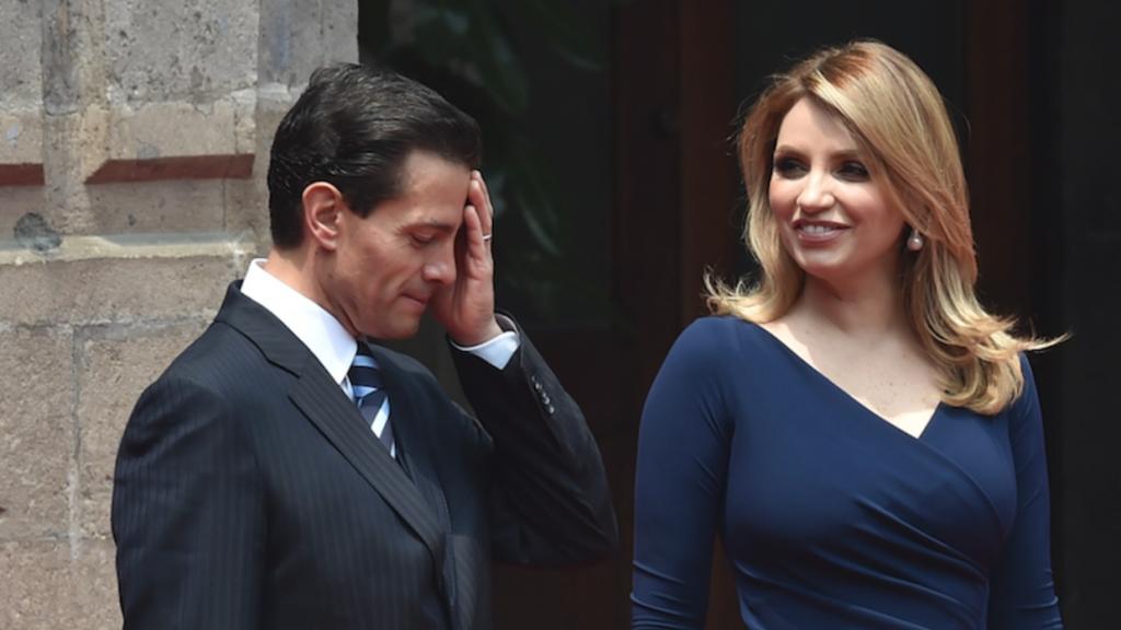 """A través de sus redes sociales, Peña Nieto le dedicó un mensaje para agradecerle """"haber sido mi compañera, esposa y amiga a lo largo de más de diez años"""". Foto: Especial"""