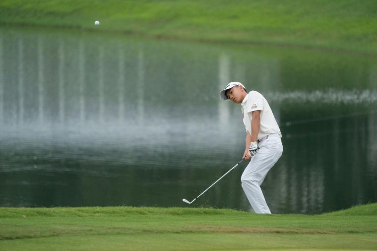 DESTACADO. El golfista hizo historia en su natal China. Foto: AFP