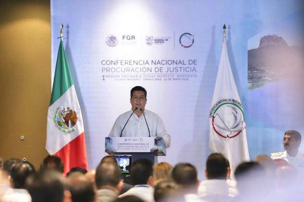 El gobernador Francisco García Cabeza de Vaca Foto: Twitter