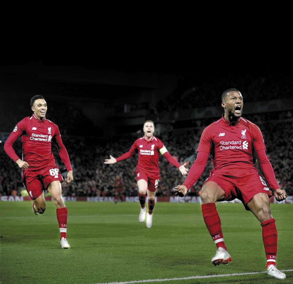 La remontada asomaba como una quimera, dado que Liverpool se presentó sin dos de sus delanteros titulares: Mohamed Salah y Roberto Firmino. Foto: EFE