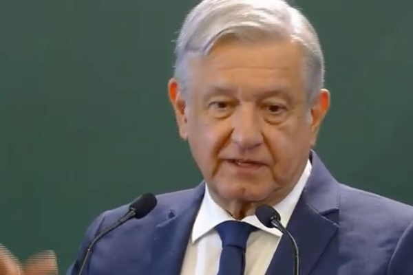 Conferencia matutina de López Obrador. Foto: Presidencia