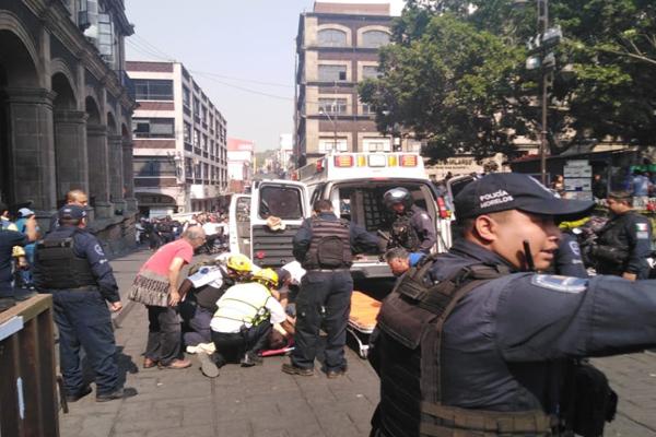 Se registró una balacera en el centro de Cuernavaca