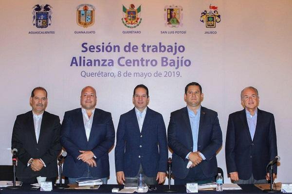 Se integrará Jalisco a las mesas de trabajo de la alianza Centro-Occidente; mandatarios acuerdan establecer un Fideicomiso Regional. Foto: Especial