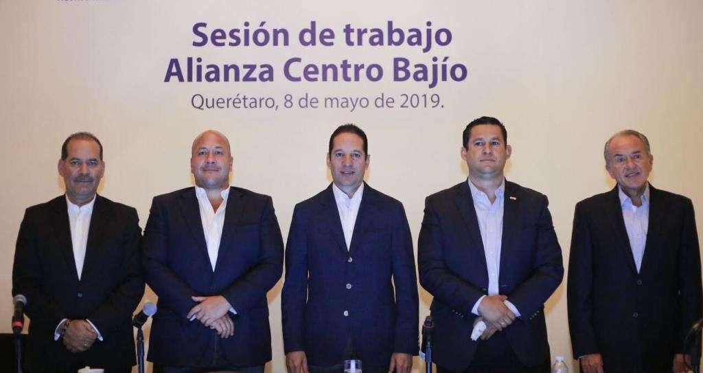 La región Centro-Bajío, integrada por los estados de  Aguascalientes, Guanajuato, San Luis Potosí y Querétaro. FOTO: ESPECIAL