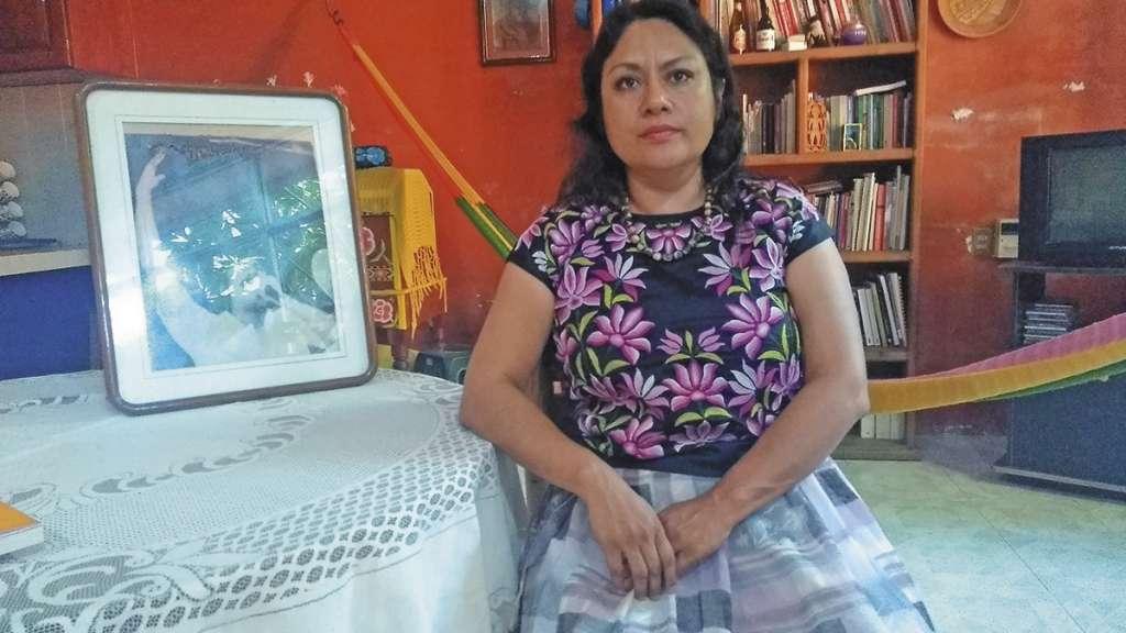 A Irma Pineda le desaparecieron a su padre, Víctor; ahí empezó su lucha.FOTO: JOSÉ LUIS LÓPEZ