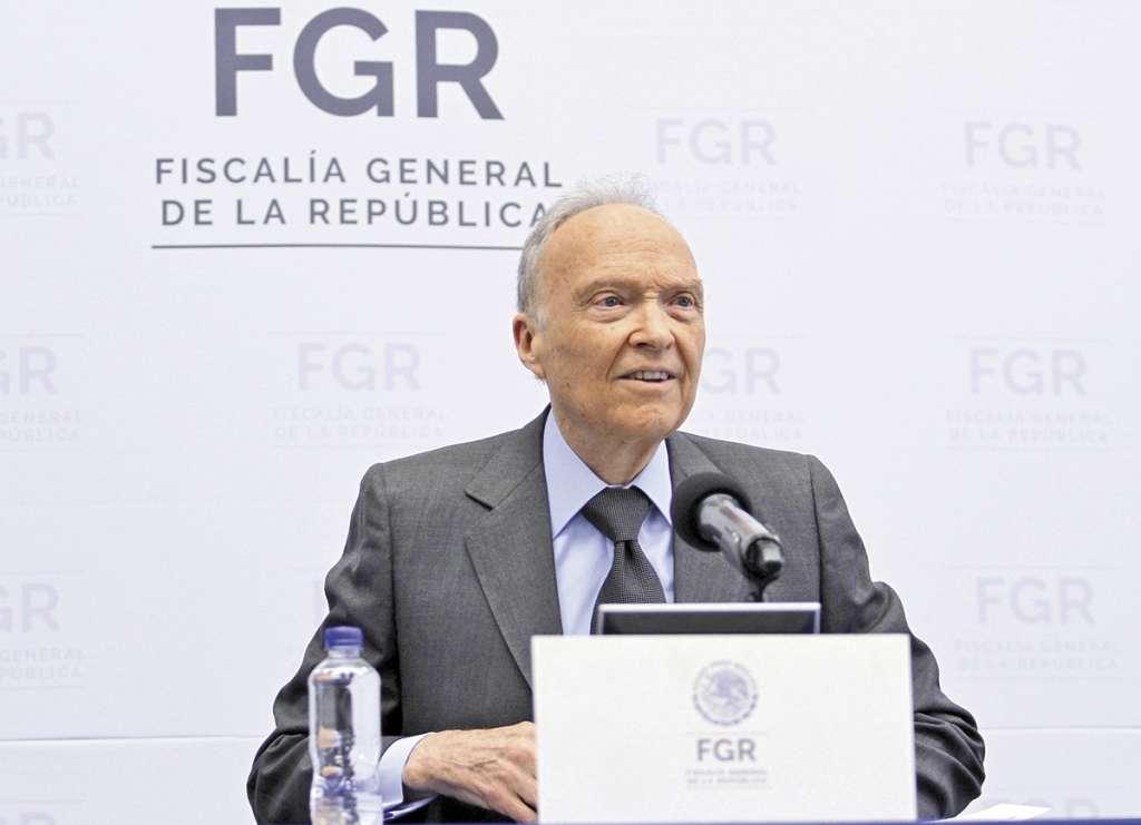 El fiscal del país asegura que pronto dará a conocer los nombres de los implicados en las investigaciones.FOTO: ESPECIAL