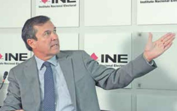 El secretario ejecutivo del INE ofreció canalizar las solicitudes de aspirantes.FOTO: ESPECIAL