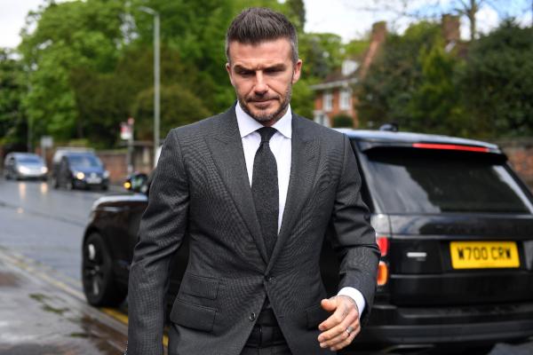 En 1999 Beckham se libró de una sentencia similar. Foto: AFP