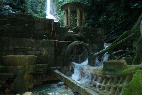 Xilitla, en San Luis Potosí, en el se puede recorrer el Jardín Surrealista de Edward James. Foto:Cuartoscuro