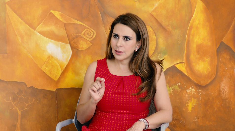 """""""El PRI no puede equivocarse"""": Carolina Viggiano"""