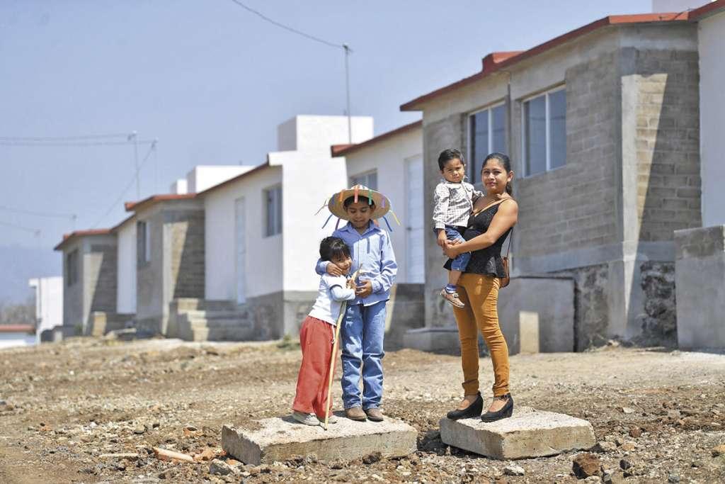 En esta comunidad, los damnificados han recuperado parte de su patrimonio. FOTO: PABLO SALAZAR