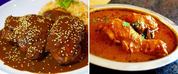 Es sorprendente cómo ambas salsas son tan, pero tan parecidas, aunque sus sabores son totalmente distintos, cada uno habla de la historia de un país, de sus conquistas, de sus tradiciones. Foto: Especial