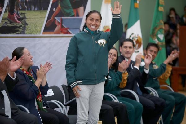 Atletista Lupita González