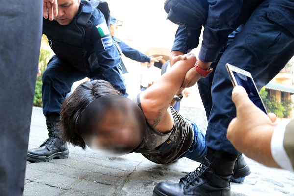 """En audiencia inicial realizada esta tarde, un juez de control calificó de legal la detención de Maximiliano """"N"""". Foto: Cuartoscuro"""