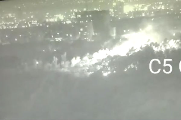 Incendio Santa Fe