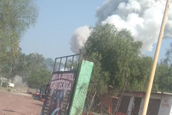 explosión opolvorín tultepec