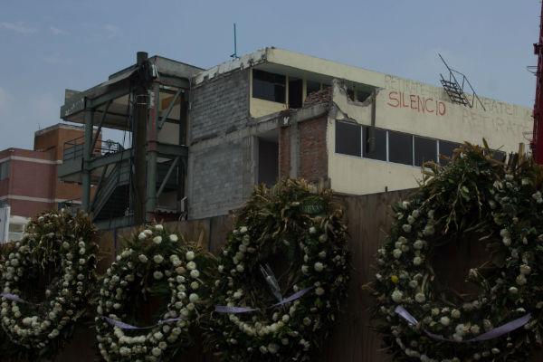 El 19 de Septiembre de 2017, murieron 26 personas en el Colegio Rébsamen. Foto: Cuartoscuro