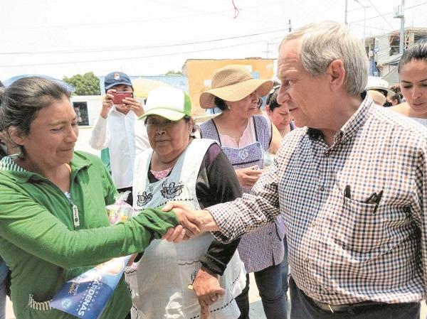 Cárdenas visitó Santo Tomás Chautla y San Baltazar Tetela. Foto: Especial