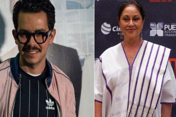 Los Premios Platino del cine iberoamericano homenajearon a Manolo Caro y Angélica Aragón con la entrega del Premio Xcaret. Foto:Cuartoscuro